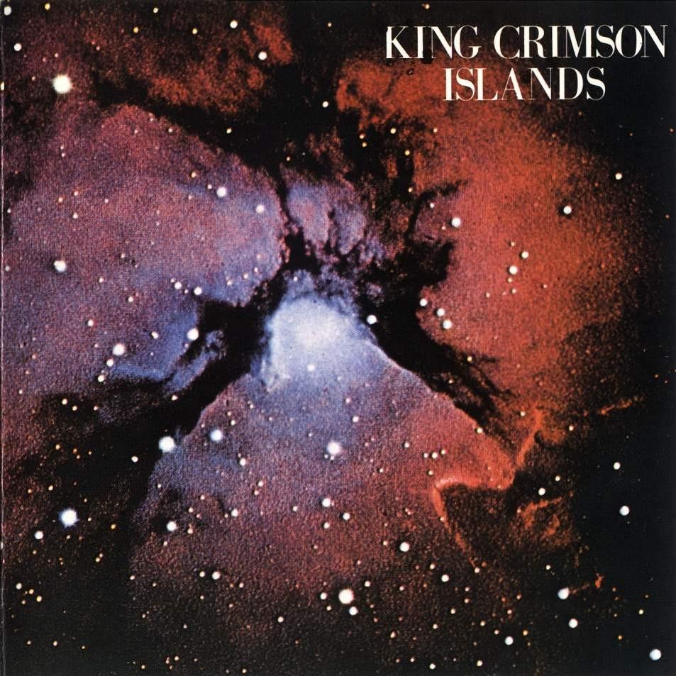 KING CRIMSON - Islands cover