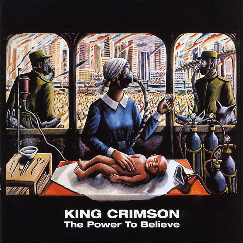 KING CRIMSON - The Power To Believe cover