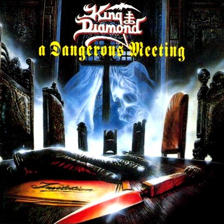 KING DIAMOND - A Dangerous Meeting cover