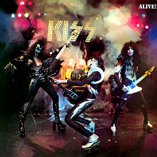 KISS - Alive! cover