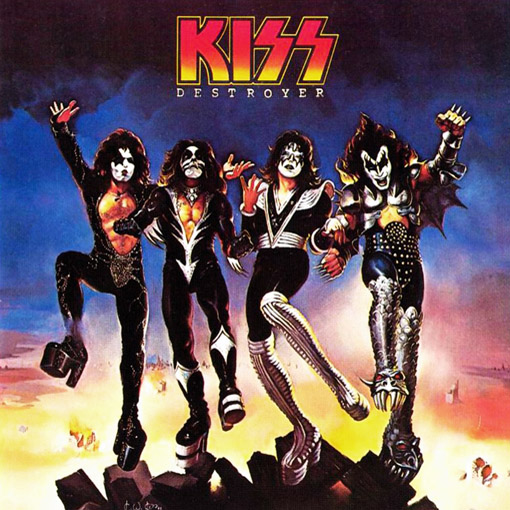 KISS - Destroyer cover