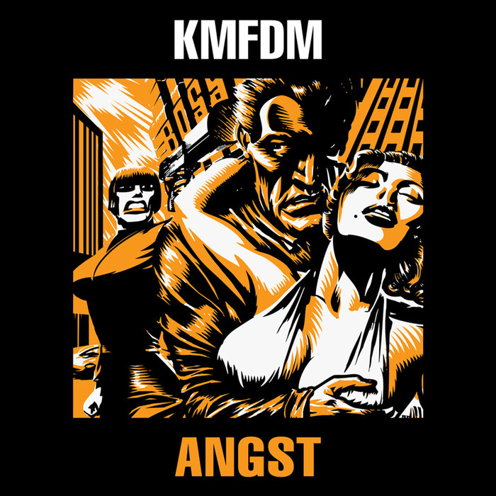 KMFDM - Angst cover