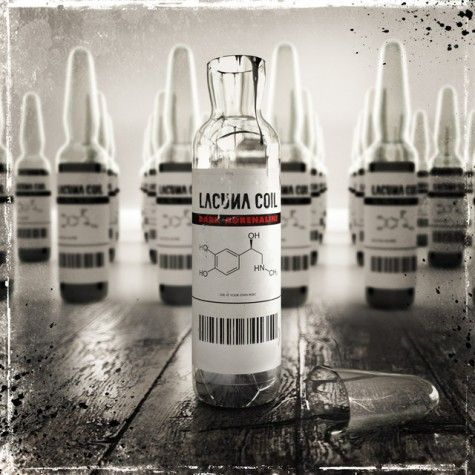 LACUNA COIL - Dark Adrenaline cover