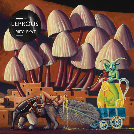 LEPROUS - Bilateral cover