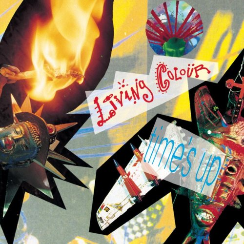 LIVING COLOUR - Time's Up cover