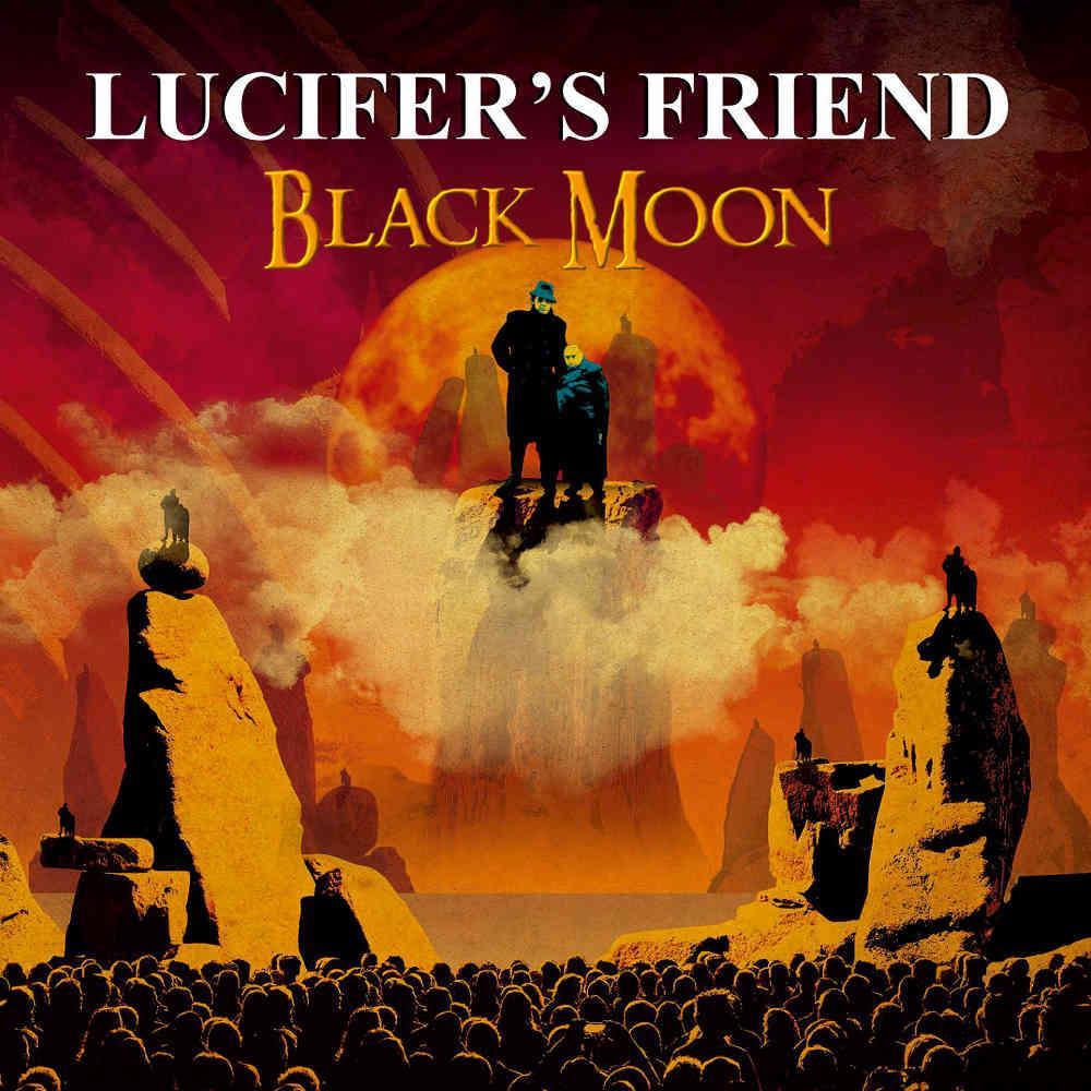 LUCIFER'S FRIEND - Black Moon cover
