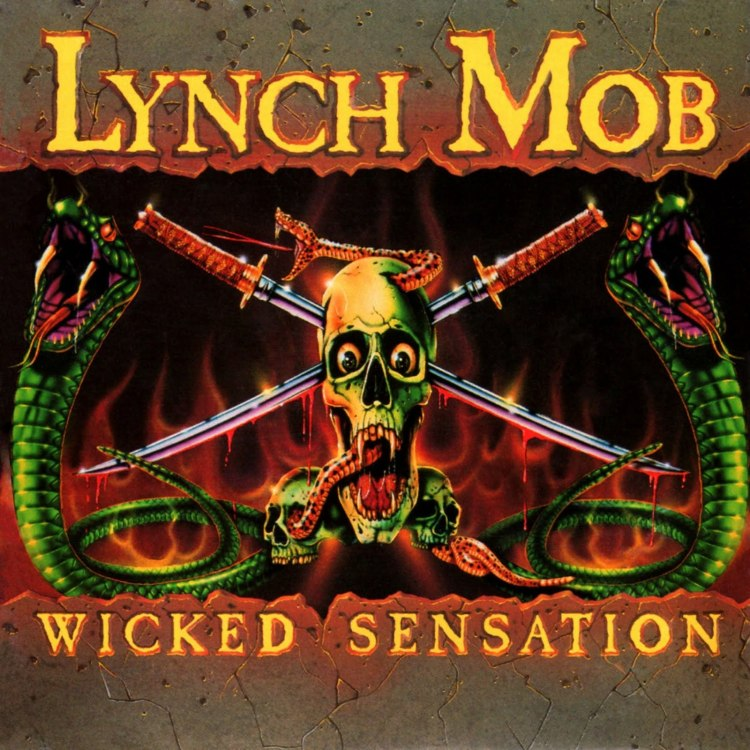 LYNCH MOB - Wicked Sensation cover