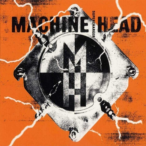 MACHINE HEAD - Supercharger cover