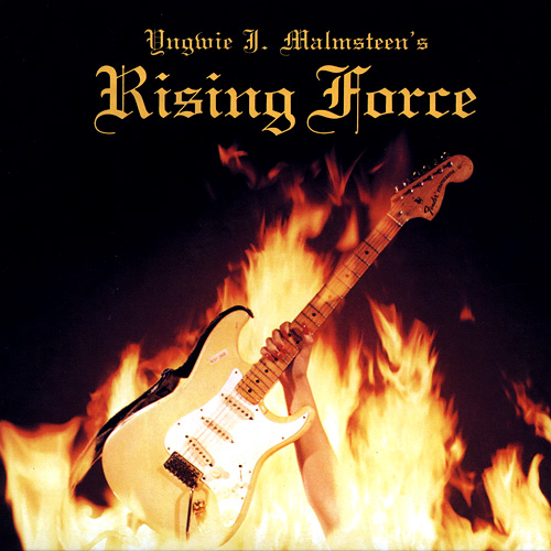 YNGWIE J. MALMSTEEN - Rising Force cover