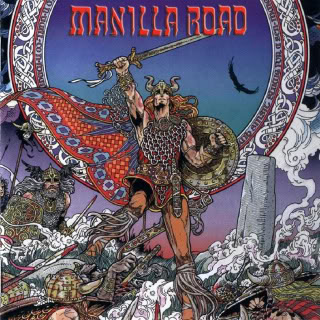 MANILLA ROAD - Mark of the Beast cover