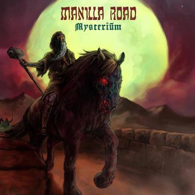 MANILLA ROAD - Mysterium cover