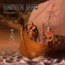 MANILLA ROAD - Voyager cover