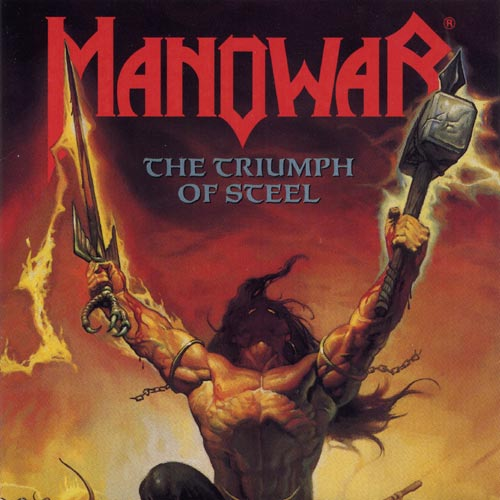 MANOWAR - The Triumph of Steel cover