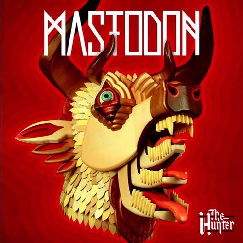 MASTODON - The Hunter cover