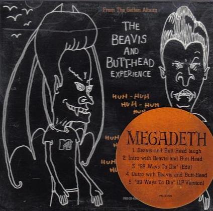 MEGADETH - 99 Ways to Die cover