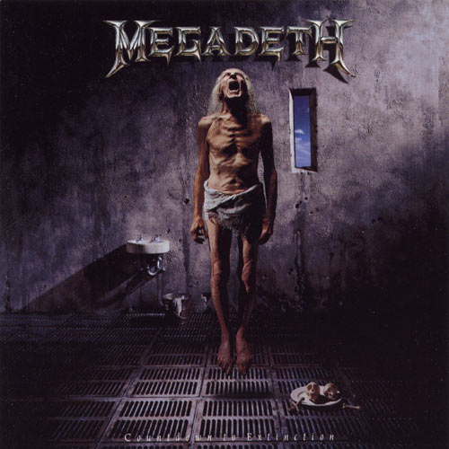 MEGADETH - Countdown to Extinction cover