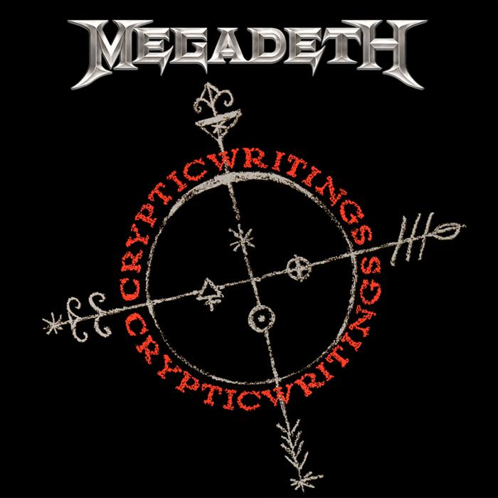 MEGADETH - Cryptic Writings cover