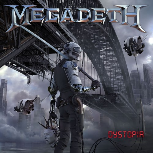 MEGADETH - Dystopia cover