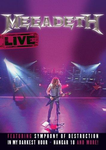MEGADETH - Megadeth Live cover