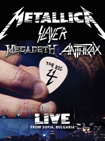 MEGADETH - The Big 4: Live from Sofia, Bulgaria cover