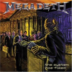 MEGADETH - The System Has Failed cover