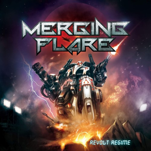 MERGING FLARE - Revolt Regime cover