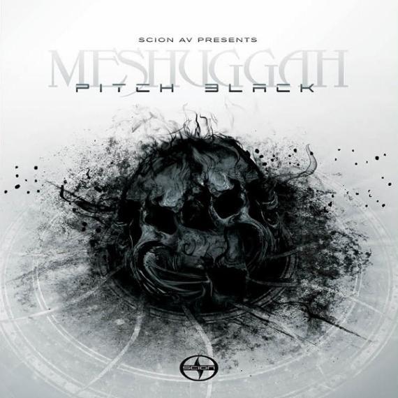 MESHUGGAH - Pitch Black cover