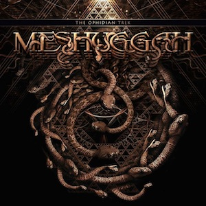 MESHUGGAH - The Ophidian Trek cover