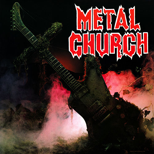 METAL CHURCH - Metal Church cover