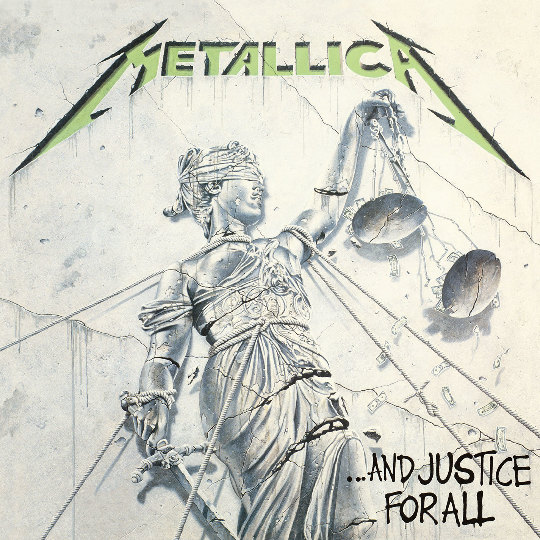 METALLICA - ...And Justice for All cover
