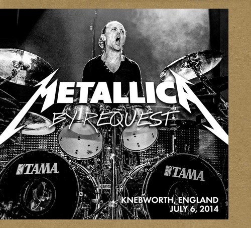METALLICA - By Request: Knebworth, England - July 6, 2014 cover