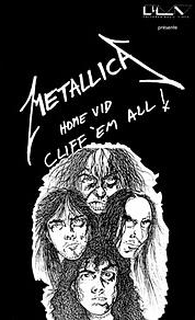 METALLICA - Cliff 'Em All! cover