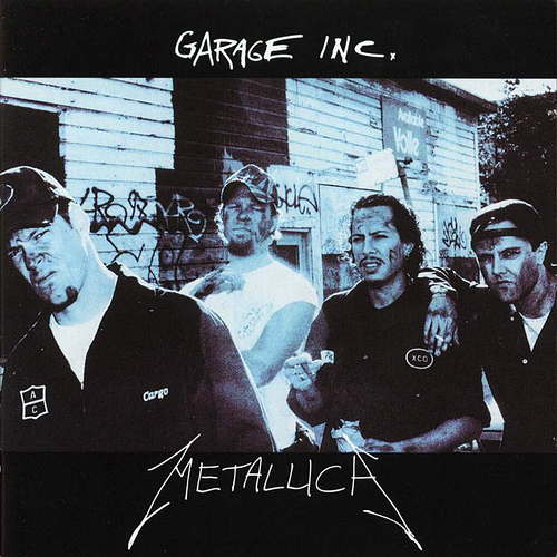 METALLICA - Garage Inc. cover