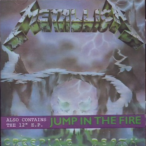 METALLICA - Creeping Death / Jump in the Fire EP cover