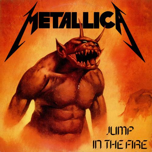 METALLICA - Jump in the Fire cover