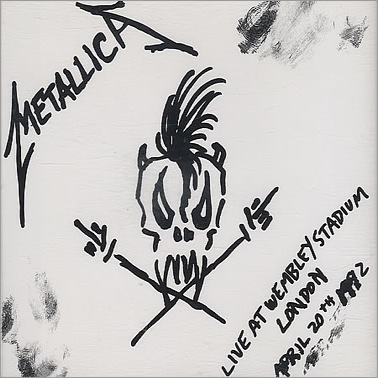 METALLICA - Live at Wembley Stadium EP cover