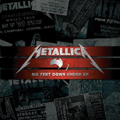 METALLICA - Six Feet Down Under EP cover