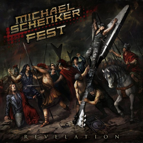 MICHAEL SCHENKER FEST - Revelation cover