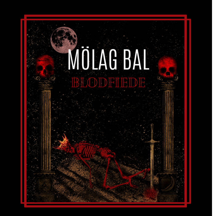 MÖLAG BAL - Blodfiede cover