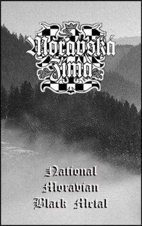 MORAVSKÁ ZIMA - National Moravian black metal cover