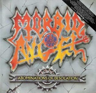 MORBID ANGEL - Abominations of Desolation cover