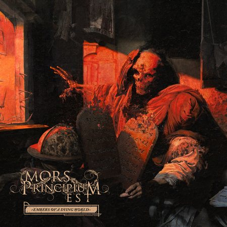 MORS PRINCIPIUM EST - Embers Of A Dying World cover
