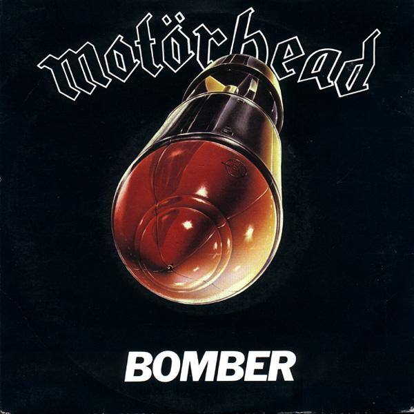 MOTÖRHEAD - Bomber cover