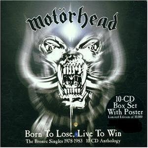 MOTÖRHEAD - Born to Lose, Live to Win: The Bronze Singles 1978-1983 cover