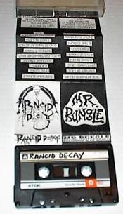 MR. BUNGLE - Rancid Decay / Mr. Bungle cover