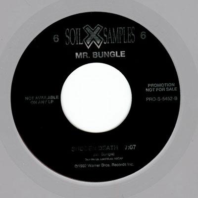 MR. BUNGLE - Soil X Samples 6 cover