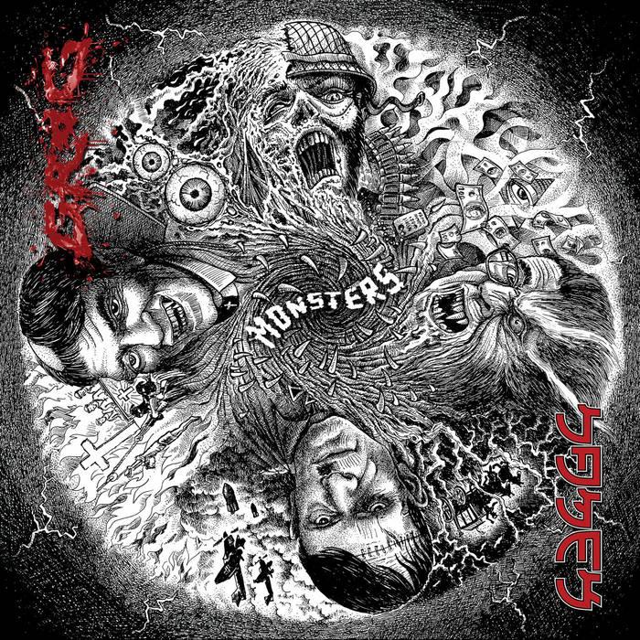 NAMEK - Monsters cover