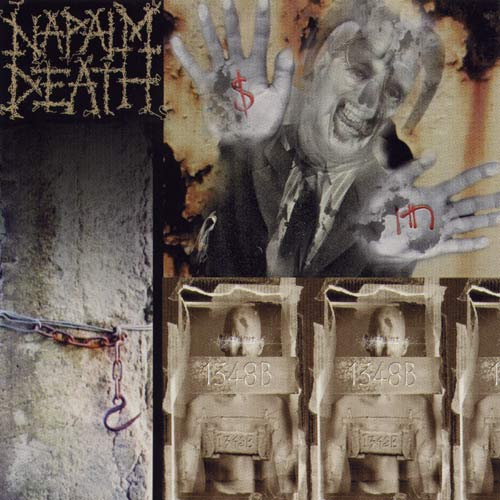 NAPALM DEATH - Enemy of the Music Business cover