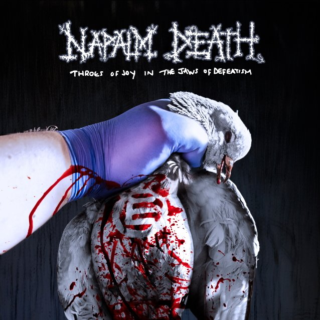 NAPALM DEATH - Throes of Joy in the Jaws of Defeatism cover