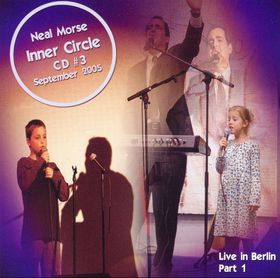 NEAL MORSE - Inner Circle CD #3 cover